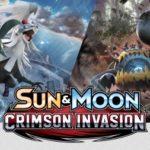 Pokemon Sun and Moon Crimson Invasion Banner