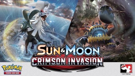 Pokemon Sun and Moon Crimson Invasion Banner