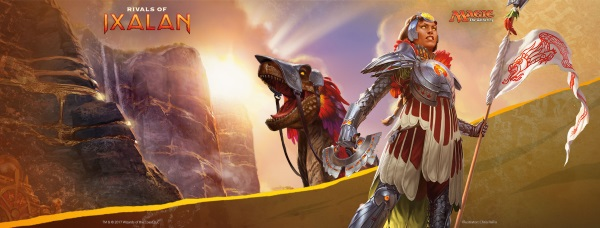 Promotional image used for the Rivals Of Ixalan Prerelease Weekend held at Leisure Time Games on January 13 and 14, 2018