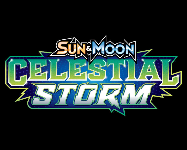 Pokemon Sun And Moon Celestial Storm logo