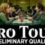 Combined image of Magic The Gathering players and the new Pro Tour Preliminary Qualifier logo used for the Magic Preliminary Pro Tour Qualifier #2 Of 2019