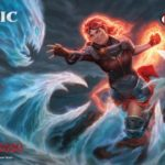 Image of Chandra dueling an Elemental used for the Core Set 2020 Prerelease Weekend at Leisure Time Games