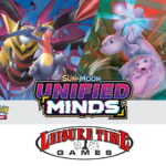 Image used for the Sun And Moon Unified Minds Prerelease at Leisure Time Games